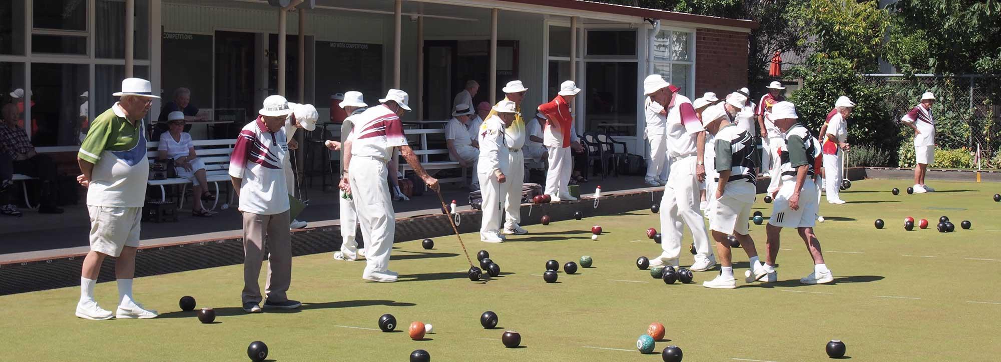 Interclub bowls competition