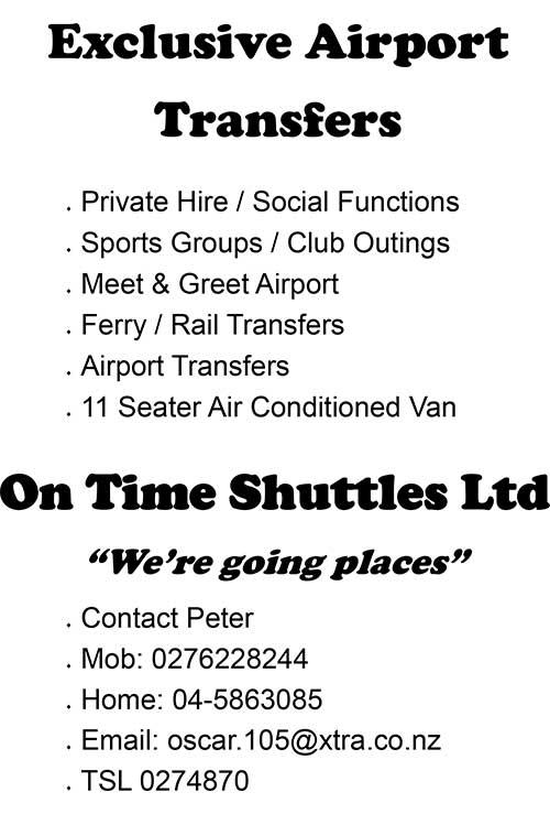 On Time Shuttles
